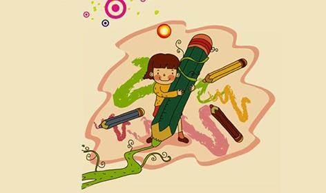 苹果树少儿创意美术引进国内知名的青藤少儿美术课程和四川美院少儿